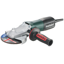"Metabo WEPF 9-125 5"" Paddle-Switch Flat-Head Grinder 900Watt"