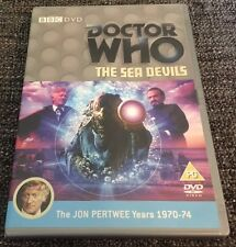 Doctor Who DVD The Sea Devils - Classic Story Starring Jon Pertwee BBC Silurians
