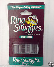 Loose Ring Adjusters/Size Reducers/Resizers: Pack of 6 Different Sizes (Unisex)