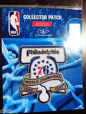 Philadelphia 76ers 50th Anniversary of 1966/7 NBA Championship Iron or Sew Patch