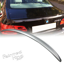 --PKUK BMW 3 Series E92 Boot Trunk Spoiler Rear 2007-2013 M3 Type Painted 354
