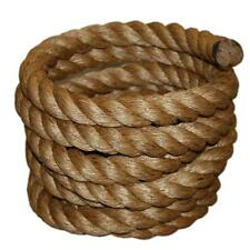"1-1/4"" x 50' Manila Rope Boat Farm Nautical Landscape Fitness Dock Decorative"