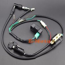 Ignition Coil CDI NGK Spark Plug Electric Wiring Harness SET  50 70 90 110 125CC
