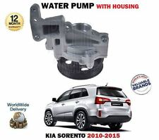 FOR KIA SORENTO 2.2 CRDi D4HB 2010- NEW WATER PUMP + HOUSING COMPLETE