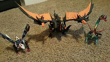 Transformers Prime TFP Beast Hunters Ultimate Fire Predaking Ripclaw Skylynx lot
