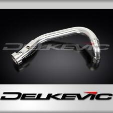 TWIN SHOCK REAR EXHAUST DOWNPIPE STAINLESS STEEL FITS OEM XV1000 XV1100 VIRAGO