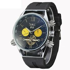 Tourbillon Classical Wrist Watch Army Men's Skeleton Date Automatic Mechanical