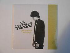 PAOLO NUTINI : JENNY DON'T BE HASTY [ CD SINGLE NEUF PORT GRATUIT ]