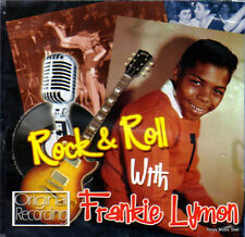 ROCK & ROLL WITH FRANKIE LYMON (NEW SEALED CD) ORIGINAL RECORDING