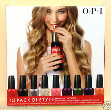 OPI OPI Nail Lacquer Minis - Coca Cola - NEW