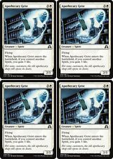 4x APOTHECARY GEIST Shadows over Innistrad MTG White Creature — Spirit Com