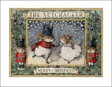 Wee Forest Folk Note-9 Nutcracker Note Card Set of 6