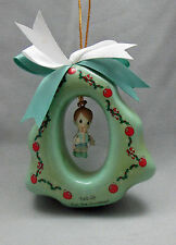 Precious Moments Christmas Tree Tied Up For The Holidays Boy  Gift Ornament 1996