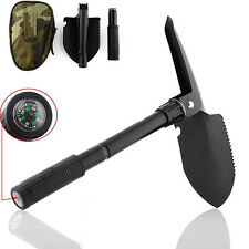 5 IN1 USEFUL OUTDOOR SURVIVAL TOOL MILITARY FOLDING COMPASS SHOVEL BAG WONDROUS