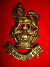 Queen's Own Royal West Kents Regiment Victorian Valise Badge