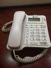 ATT Corded Phone Telephone Landline Speakerphone Home Office Reception White .