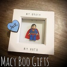 Fathers Day Personalised Gift Present Superhero Superman Dad Daddy Grandad
