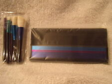 MAC ENCHANTED EYE BRUSH SET  INCLUDED CASE LIMITED EDITION
