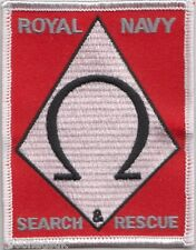 Search and Rescue Royal Navy Embroidered Crest Badge Patch