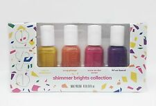 ESSIE Nail Lacquer - Mini Shimmer Brights SUMMER 2016- 4 colors x .16oz- 87113