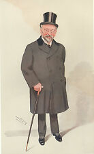 1909 ORIGINAL VANITY FAIR PRINT ~ SIR HORACE REGNART JP ~ SPY
