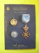 MONETE E MEDAGLIE ANTICHE E MODERNE ROMA 18 APRILE 1991