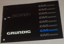 Manual de instrucciones Grunding autoradio WKC 2670 Vd