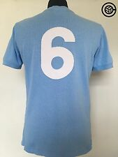 Moore # 6 INGHILTERRA UMBRO AWAY FOOTBALL SHIRT JERSEY COPPA DEL MONDO 70 1970 (M) West Ham