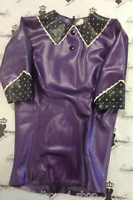 R1752 Twisted Secret Latex Rubber TOP Westward Bound 8 PS PURPLE/BLACK  £109