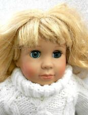 """Kingstate Corp Cititoy 18"""" Friendship Forever Doll blonde hair vinyl and cloth"""