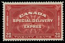 """CANADA E4 - Special Delivery Postage """"1930 Printing"""" (pf82734)"""