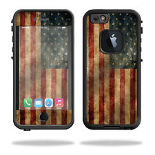 Skin Decal Wrap for Lifeproof iPhone 6/6S Case fre cover Vintage Flag