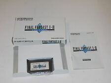 Final Fantasy I & Ii Advance Gameboy Advance Complete Japan Imported