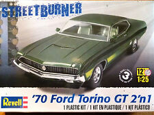 Revell Monogram 1:25 '70 Ford Torino GT Car Model Kit