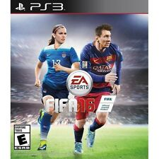 PLAYSTATION 3 PS3 GAME FIFA 16 SOCCER BRAND NEW SEALED
