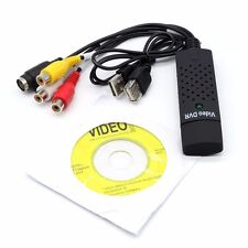 USB 2.0 Video Capture Card Easycap VHS to DVD Converter Audio Video Adapter - UK