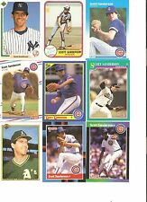 18 CARD SCOTT SANDERSON BASEBALL CARD LOT            23Z