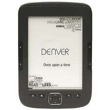"DENVER ELECTRONICS EBO-610L E-BOOK READER MIT 6""/15,24 CM E-INK DISPLPAY - NEU"