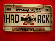 HRC Hard Rock Cafe Washington License Plate Series 2002 LE