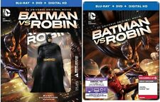 Best Buy + Target Exclusive Steelbook Batman Vs Robin Blu-ray
