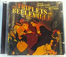 The Triplets of Belleville Original Soundtrack (CD, 2004, Higher Octave)(cd7091)