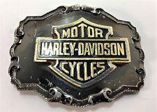 Vintage HARLEY-DAVIDSON Logo Belt Buckle 1970s