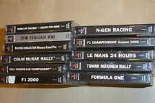11 PS1 PLAYSTATION 1 RACE GAMES BUNDLE COLIN MCRAE RALLY F1 LE MANS N-GEN TOCA +