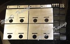 Universal Racing Drift Stainless steel Oil Pan Baffle Plate Sump Pan Pump Kit