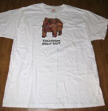 CHARMIN Sold Out lrg T shirt City Zen Comics tee grizzly bear mascot cartoon