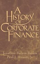 A History of Corporate Finance-ExLibrary