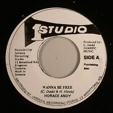 HORACE ANDY - WANNA BE FREE 'QUEEN OF THE MINSTREL'  (STUDIO 1) 1979