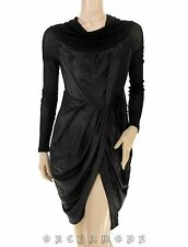 Tunique Robe COP COPINE Taille 2 38 M Portefeuille Satiné Tunic Tunika Dress TBE