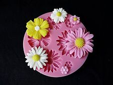 Silicone Flower Clay Soap Mold Fondant Sugarcraft Chocolate Cake Decorating Tool