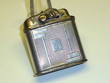 FORK (KREMER & BAYER) POCKET LIGHTER WITH STERLING SILVER CASE - 1930 - GERMANY
